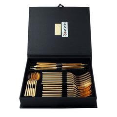 Набор столовых приборов (24 предмета / 6 персон) Herdmar DESIRE OLD GOLD 15830241600E14