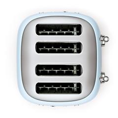 Тостер на 4 ломтика Smeg (Пастельный голубой) TSF03PBEU