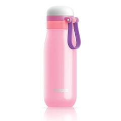Бутылка вакуумная из нержавеющей стали 500 мл розовая ZK203-PK