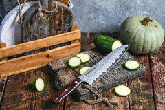 Нож кухонный стальной Шеф 210мм Samura KAIJU SKJ-0085/Y