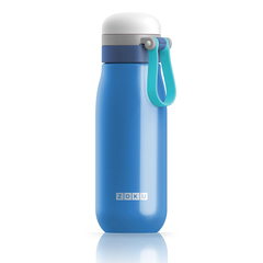 Бутылка вакуумная из нержавеющей стали 500 мл синяя ZK203-BL