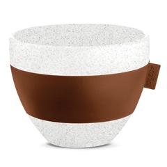 Чашка с термоэффектом AROMA M Organic 270 мл коричневая Koziol 3571674