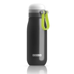 Бутылка вакуумная из нержавеющей стали 500 мл чёрная ZK203-BK