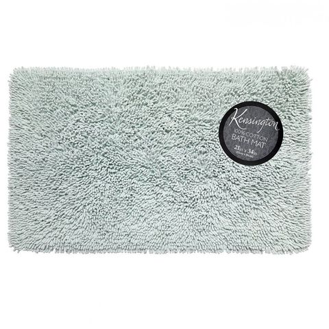 Коврик 53х86 Carnation Home Fashions Kensington Spa Blue BM-M3L/49