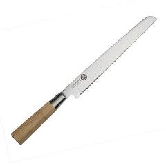 Нож кухонный стальной для хлеба (220мм) Suncraft MU-06