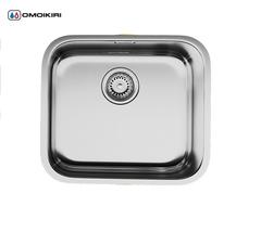 Кухонная мойка из нержавеющей стали OMOIKIRI Ashino 49-IN (4993066)