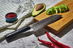 Нож кухонный Сантоку 175мм Samura 67 Damascus SD67-0094M