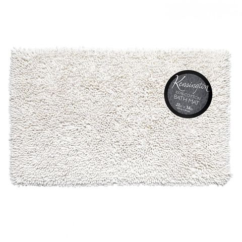 Коврик 53х86 Carnation Home Fashions Kensington White BM-M3L/21