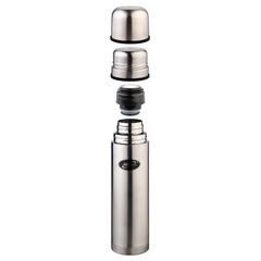 Термос Biostal (0,75 литра) 2 чашки, стальной NB-750K2