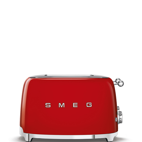 Тостер на 4 ломтика Smeg (Красный) TSF03RDEU