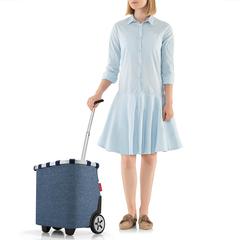 Сумка-тележка Carrycruiser twist blue Reisenthel OE4027