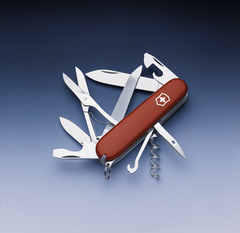 Нож Victorinox Mountaineer, 91 мм, 18 функций, красный* 1.3743