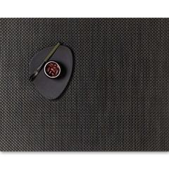Салфетка подстановочная, жаккардовое плетение, винил, (36х48) Chestnut (100110-009) CHILEWICH Basketweave арт. 0025-BASK-CHES