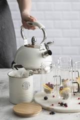 Емкость для хранения чая Living, кремовая, 1 л TYPHOON 1400.974V
