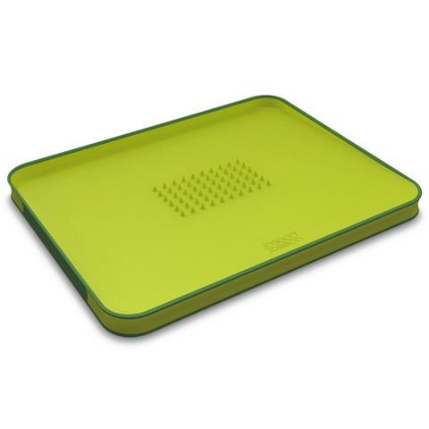 Доска разделочная для мяса Joseph Joseph Cut&Carve™ Plus двухсторонняя большая зеленая 60001