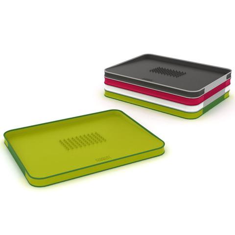 Доска разделочная для мяса Cut&Carve™ Plus двухсторонняя большая зеленая