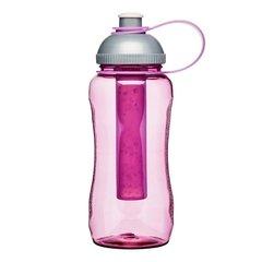 Бутылка для напитков с охлаждающим элементом To Go, розовая SagaForm 5016512