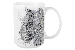 Кружка Леопард Wild Home & Style AL-57990