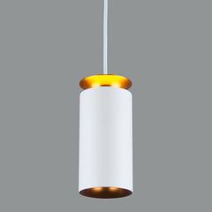 Подвесной светодиодный светильник DLS021 9+4W 4200К белый матовый/золото Elektrostandard