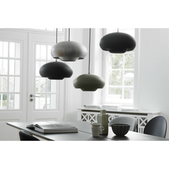 Лампа подвесная Champ, D30 см, черная матовая Frandsen 157565001