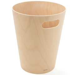 Корзина для мусора Woodrow натуральное дерево Umbra 082780-390