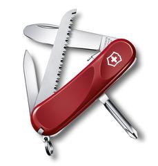Нож Victorinox Junior 09, 85 мм, 8 функций, красный 2.4213.SKE