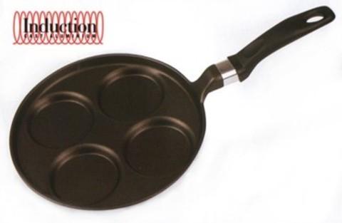 Литая сковорода для оладий Risoli Induction 25см 00106MIN/25T