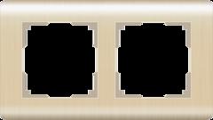 Рамка на 2 поста (шампань) WL12-Frame-02 Werkel