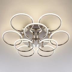 Светодиодный потолочный светильник Eurosvet Impulse 90069/9 хром