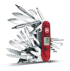 Нож Victorinox SwissChamp XAVT, 91 мм, 81 функция, красный (подар. упаковка) 1.6795.XAVT