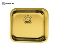 Кухонная мойка из нержавеющей стали OMOIKIRI Ashino 49-АB (4993067)