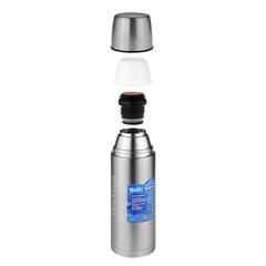 Термос Biostal Авто (1 литр) с термочехлом, стальной NBP-1000-1