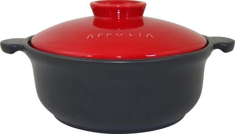 Кастрюля круглая индкционная 32,5х26,4 (3,1л) Appolia Terry&Flamme CHERRY LID 505031020