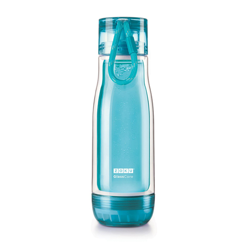 Бутылка Zoku 480 мл голубая ZK128-TL