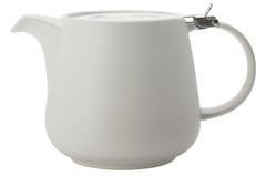 Чайник с ситечком 1.2л Оттенки (белый) в инд.упаковке Maxwell & Williams AL-57926