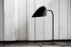 Лампа настольная Hitchcock, черная матовая Frandsen 2960_6551001