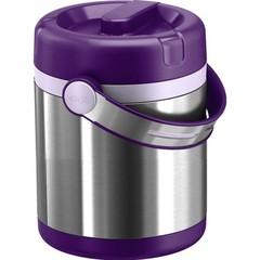 Термос для еды Emsa Mobility (1,2 литра) фиолетовый/стальной 509233