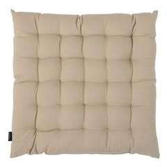 Подушка на стул из хлопка бежевого цвета из коллекции Essential, 40х40 см Tkano TK20-CP0004