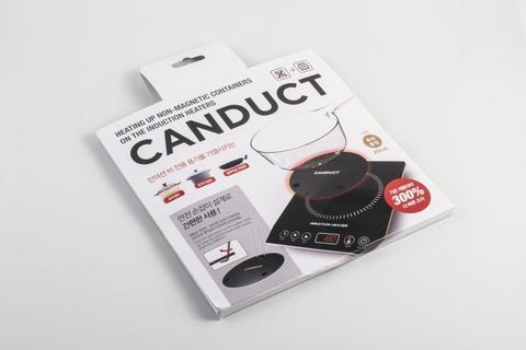 Диск-переходник (адаптер) для индукционной плиты 20 см (съемная ручка) Canduct CAN - A20