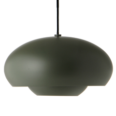 Лампа подвесная Champ, D37,5 см, зеленая матовая Frandsen 1581346001