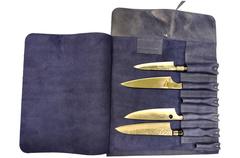 Скрутка для ножей Samura (синий) KRO-01BLU