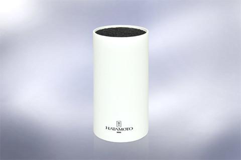 Подставка универсальная для ножей HATAMOTO COLOR, 225мм, пластик, (Белая), PWBS-15D-WHI