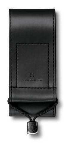 Чехол из искусственной кожи Victorinox, черный, для Swiss Officers Knife 111 мм толщиной 3 уровня, S MV-4.0482.3