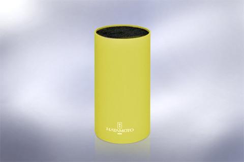 Подставка универсальная для ножей HATAMOTO COLOR, 225мм, пластик, (Желтая), PWBS-15D-YEL