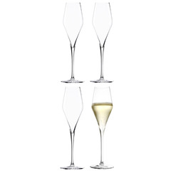 Набор из 4 бокалов для шампанского 300мл Stolzle Q1