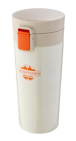 Термокружка Biostal Crosstown (0,4 литра) белая