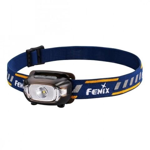 Фонарь светодиодный налобный Fenix HL15 черный, 200 лм, 2-ААА