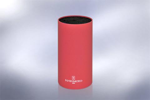 Подставка универсальная для ножей HATAMOTO COLOR, 225мм, пластик, (Красная), PWBS-15D-RED