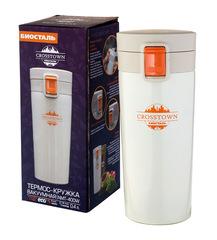 Термокружка Biostal Crosstown (0,4 литра) белая NMT-400W