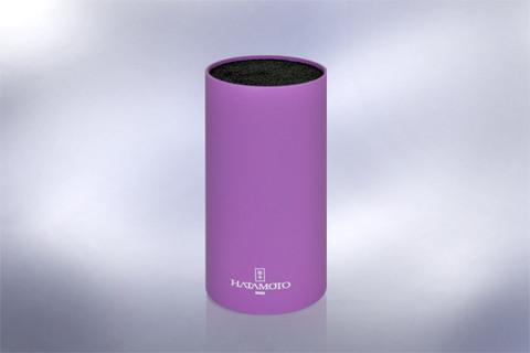 Подставка универсальная для ножей HATAMOTO COLOR, 225мм, пластик, (Фиолетовая), PWBS-15D-PUR